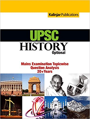 UPSC History main examination topicwise question analysis 20+year 9789382732921 available at Amazon for Rs.132