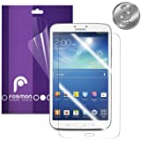 Fosmon Crystal Clear Screen Protector Shields for Samsung Galaxy Tab 3 8 Inch Tablet - Fosmon Retail Packaging