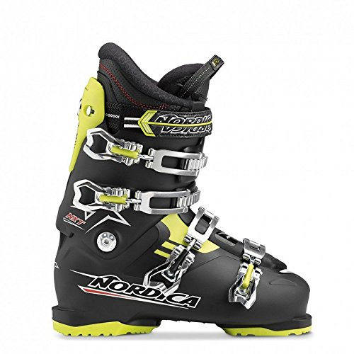 Nordica NXT N4 All Mountain scarponi da sci da uomo, Nero/Lime