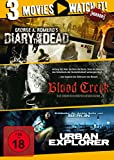 Diary of the Dead/ Blood Creek/ Urban Explorer [3 DVDs]