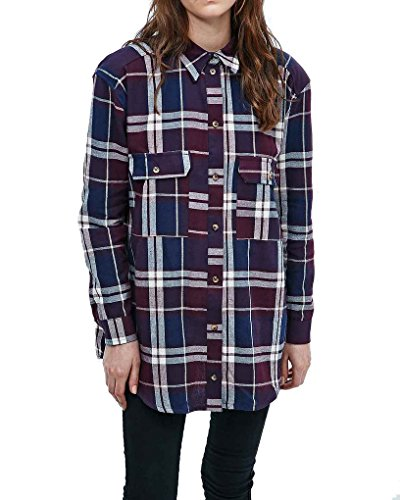 urban-outfitters-chemisier-femme-violet-x-small