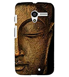 FUSON 3D Designer Back Case Cover for MOTOX D9631
