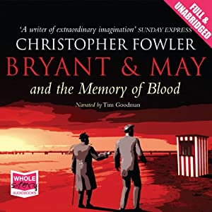 Bryant & May and the Memory of Blood | Livre audio