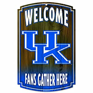 NCAA Kentucky Wildcats Wood Sign by WinCraft