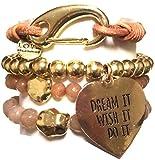 CAT HAMMILL ( キャットハミル ) オーストラリア デザイン ゴージャス ブレスレットセット gold dream tassel bracelet set ゴールド マルチ ブレスレット ポーチ セット 海外 ブランド