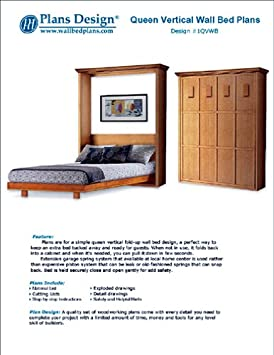 Mission Style Murphy Bed Plans