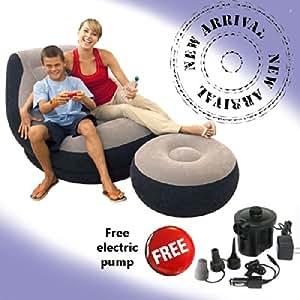 Original Intex Ultralounge 2 In 1 Chair Air Sofa With