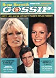 Charlie's Angels Farrah Fawcett Cheryl Ladd Jaclyn Smith & Lee Majors September 1977 Rona Barrett's Gossip Magazine
