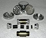 "4 Piece 2 1/4"" NEW STYLE Herb - Pollen Grinder / CNC Pollen Press Combo"