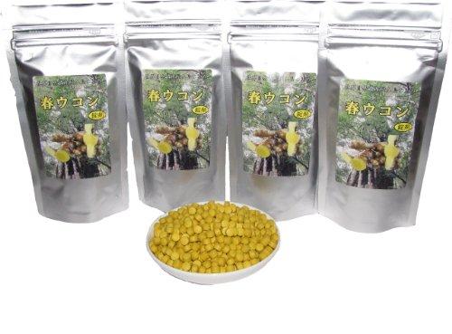 屋久島産春ウコン錠剤 550粒 g 4個セット
