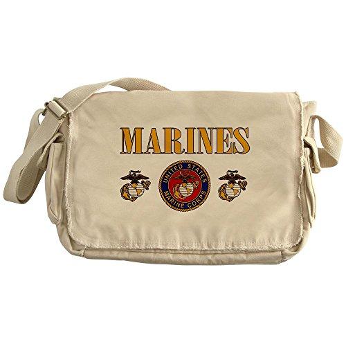 Royal Lion Khaki Messenger Bag Marines Us Marine Corps Seal
