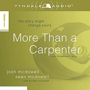 More Than a Carpenter Audiobook