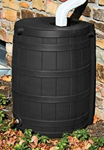 Rain Wizard 50 Gallon Black