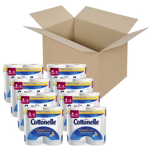 Cottonelle Clean Care Double Roll Toilet Paper-32 ct