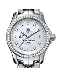 Delta Gamma Women's TAG Heuer Link Watch with Diamond Bezel
