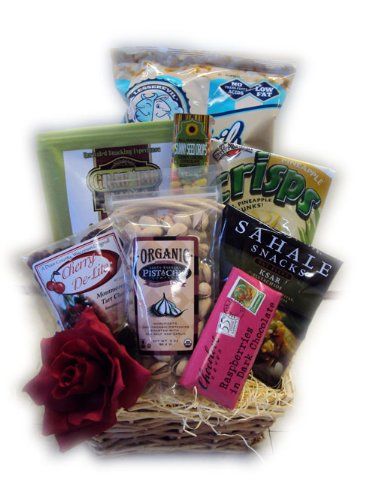 Hugs & Kisses Healthy Valentine's Day Gift Basket
