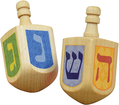 Dreidels - 2 pack - Made in USA - 1