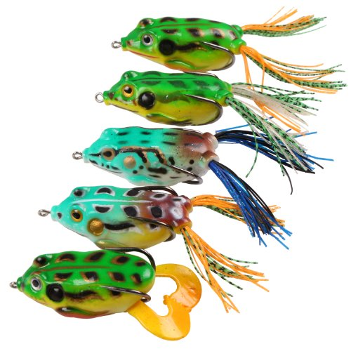 top 5 frogs fishing
