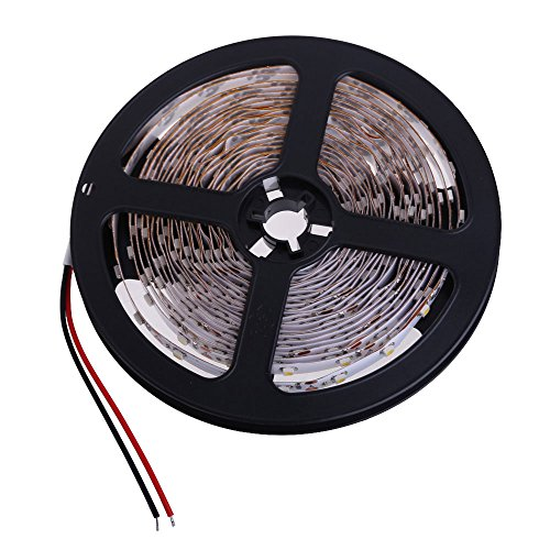Ecoolbuy 5M 3528 Smd Warm White Light Led Strip For Home Party Car Decoration