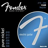 51ZBv0gIGrL. SL160  Fender Accesories 073 0150 406  Pure Nickel Electric Guitar Strings, Custom