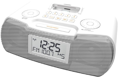 Sangean AM/FM-RDS Atomic Clock Radio with iPod Dock sangean am fm rds atomic clock radio with ipod dock