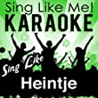 Ich bau Dir ein Schloss (LP Edit) [Karaoke Version] (Originally Performed By Heintje)