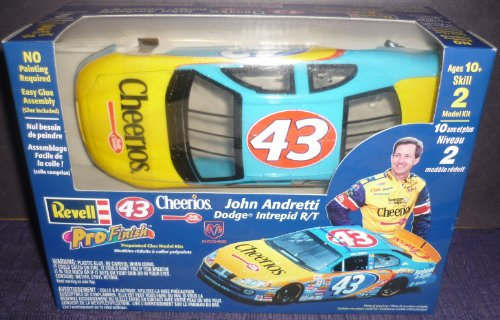 #1661 Revell Pro Finish #43 Cheerios JOhn Andretti Dodge Intrepid R/T 1/24 Scale Plastic Model Kit