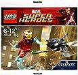 LEGO Super Heroes: Iron Man vs Fighting Drone Jeu De Construction 30167 (Dans Un Sac)