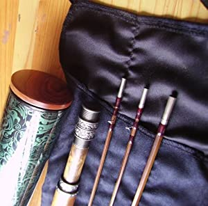 New Superb 7.6ft 2pcs 2tips Deluxe Bamboo Fly Rod #4 by tiger