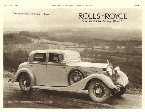 rolls-royce-advert-june-22-1935-art-print