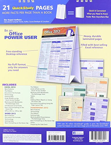 Office 2013 quick study easel software computer software application software - Office software applications ...