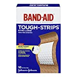 Band-Aid Brand Adhesive Bandages, Tough-Strips, Extra Large (1.75 X 4 Inches), 10 Count (Pack of 2)