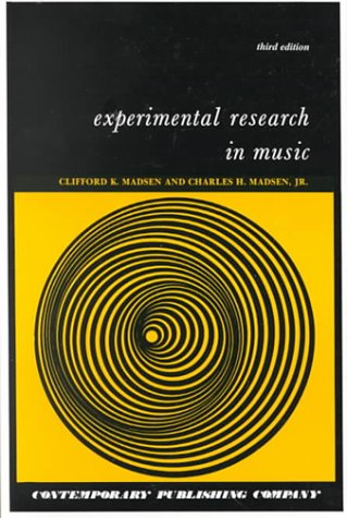 Experimental Research in Music, Text