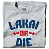 Lakai Or Die Tee Heather Grey
