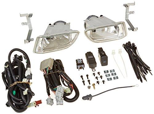 -Black 100W Halogen 2012 Honda trucks ODYSSEY Post mount spotlight Driver side WITH install kit 6 inch