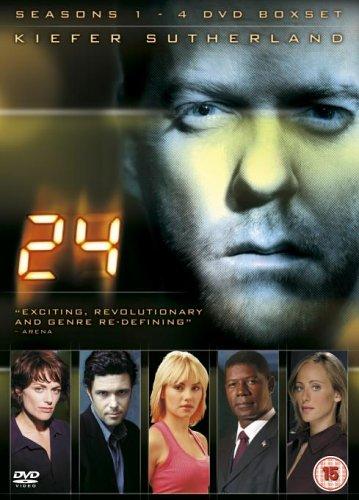 24 - Season 1-4 [DVD]