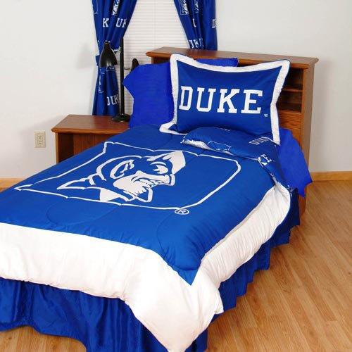 Duke Reversible Comforter Set - Queen - Duke Blue Devils front-1014976