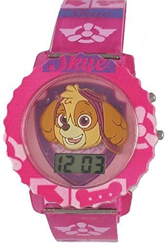 Paw Patrol Skye Girl's Light Up Digital Watch PAW4019