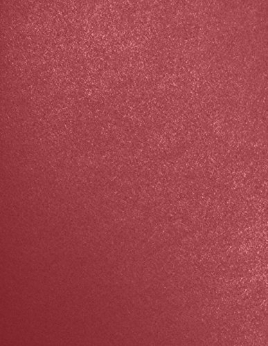 LUXPaper 8.5 x 11 Paper for Crafts and Printing in Mars Metallic - Stardream, Scrapbook and Office Supplies, 500 Pack (Red) (Color: Mars Metallic - Stardream?, Tamaño: 500 Qty.)