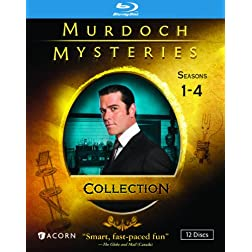 Murdoch Mysteries Collection: Seasons 1-4 [Blu-ray]