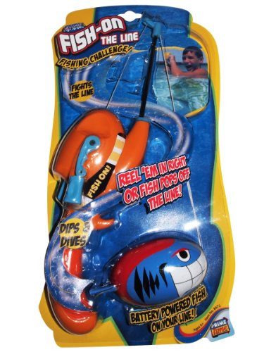 Prime Time Toys I-Splash Fish-On The Line Fishing Challenge - 1