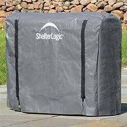 4 Foot ShelterLogic Firewood Rack Cover 90477