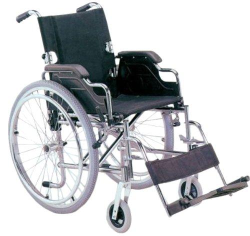 Carrozzina Royal ad autospinta con gomme pneumatiche e braccioli da tavolo - seduta 46 cm