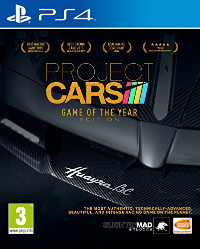 Project CARS - Game of the Year Edition (Playstation 4) [Edizione: Regno Unito]