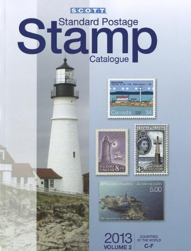 2013 Scott Standard Postage Stamp Catalogue Volume 2 Countries of the World C-F (Scott Standard Postage Stamp Catalogue: