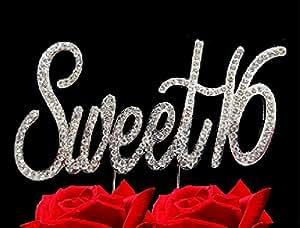 SWEET 16 - Elegant Bling Happy Sweet sixteen Birthday, Party Themes