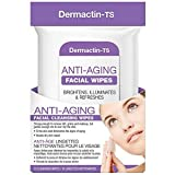Dermactin-TS Anti-Aging Facial Cleansing & Skin Firming Wipes (Pack Of 15)