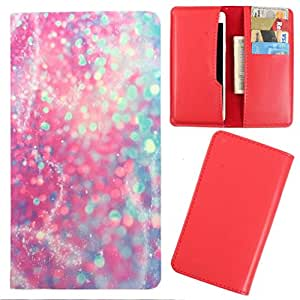 DooDa - For Karbonn A25 + PU Leather Designer Fashionable Fancy Case Cover Pouch With Card & Cash Slots & Smooth Inner Velvet