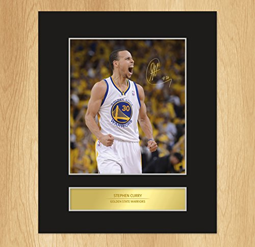 stephen-curry-signed-mounted-photo-display-golden-state-warriors
