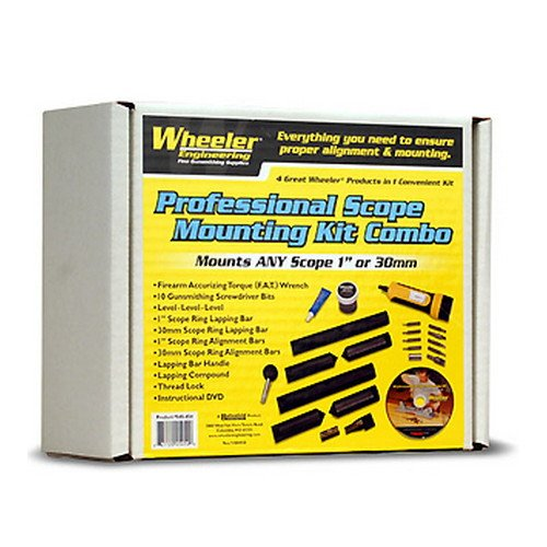 Wheeler Scope Mounting Kit One Inch and 30mm